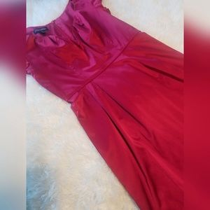 Trashy Diva Pin Up Red Sweetheart Neckline Dress